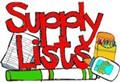 2017-2018 Supply Lists