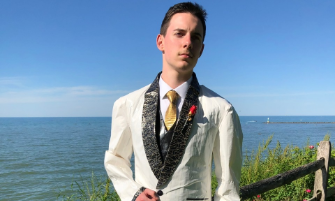 RRHS Graduate Joshua O'Halla Selected as Finalist for Duck Tape Tuxedo Contest