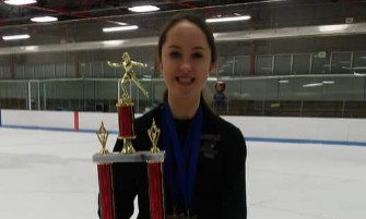 RRHS Freshman Helps Team Westshore to Runner-Up Finish at Ohio High School Team Figure Skating Championships