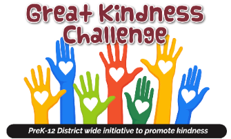 RRCSD Will Take Part in Great Kindness Challenge Week