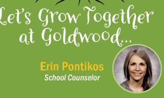 Meet the New Goldwood Counselor - Erin Pontikos