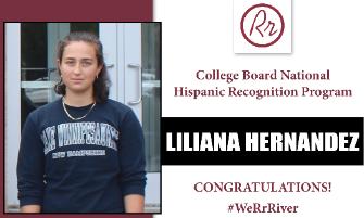 RRHS Senior Named to College Board National Hispanic Recognition Program