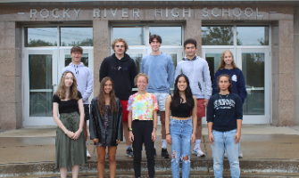 Eleven RRHS Students Earn National Merit Honors