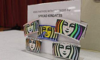 RRMS Students Spreading Kindness One Cup - and Sleeve - at a Time