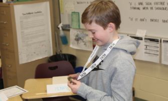 RRMS Student Named National Geographic GeoBee Ohio State Competition Semifinalist