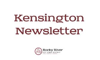 Kensington Newsletter