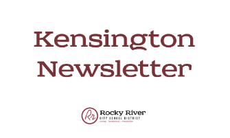 Kensington Newsletter