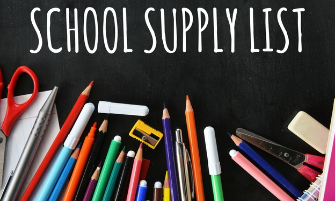 School Supply Lists and Fee Information