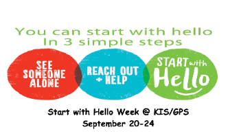 Start with Hello Week at Goldwood
