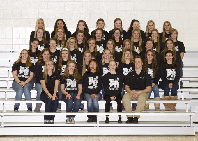 2013-2014 Girls Swim/Dive Team