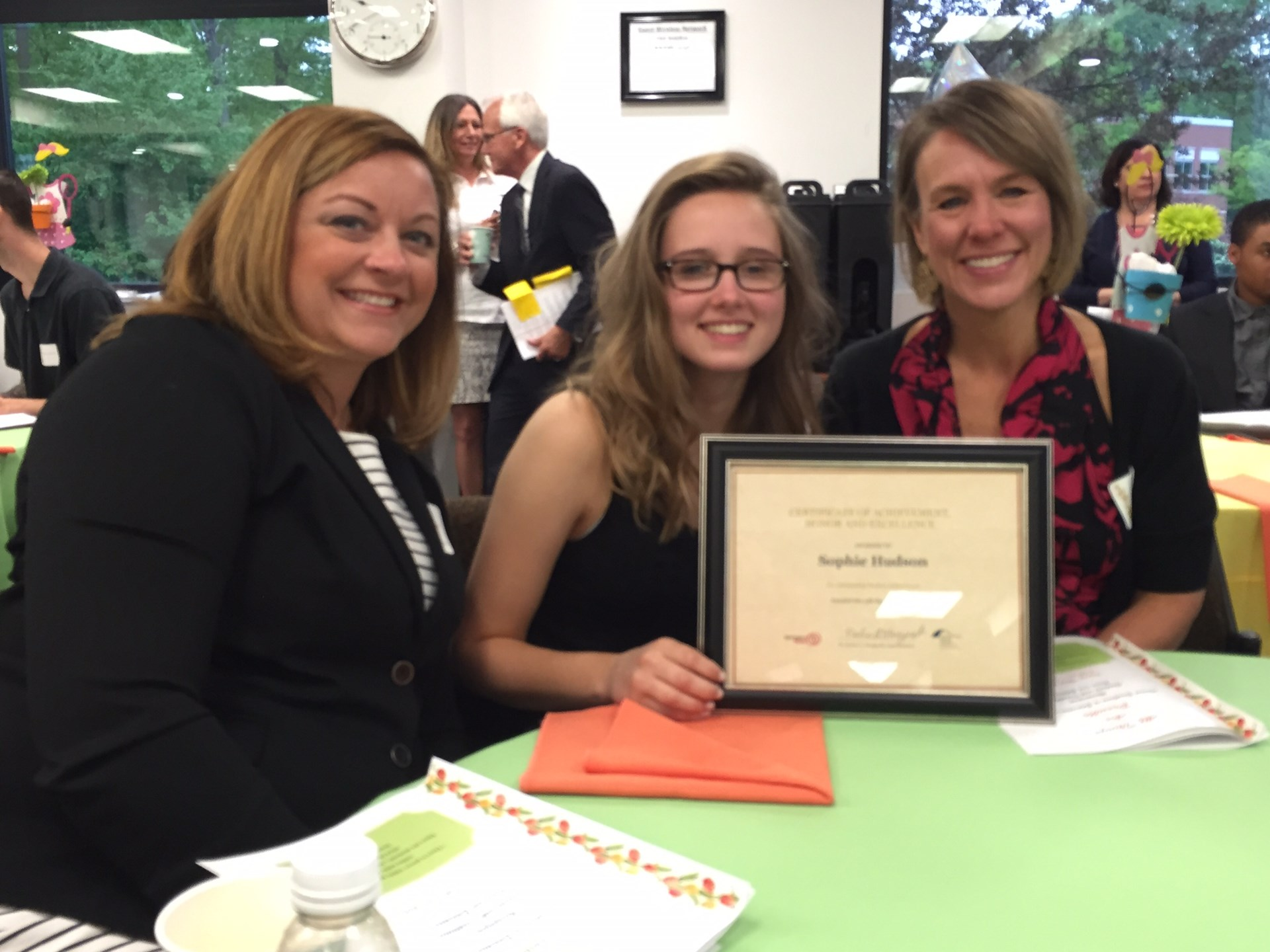 RRHS Student Sophie Honored at Excellence in Education Awards Ceremony