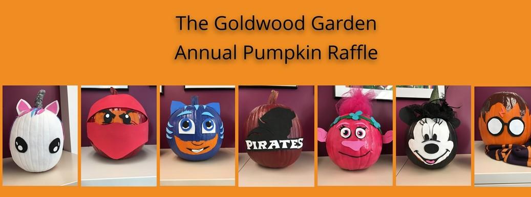 The Goldwood Garden Annual Pumpkin Raffle