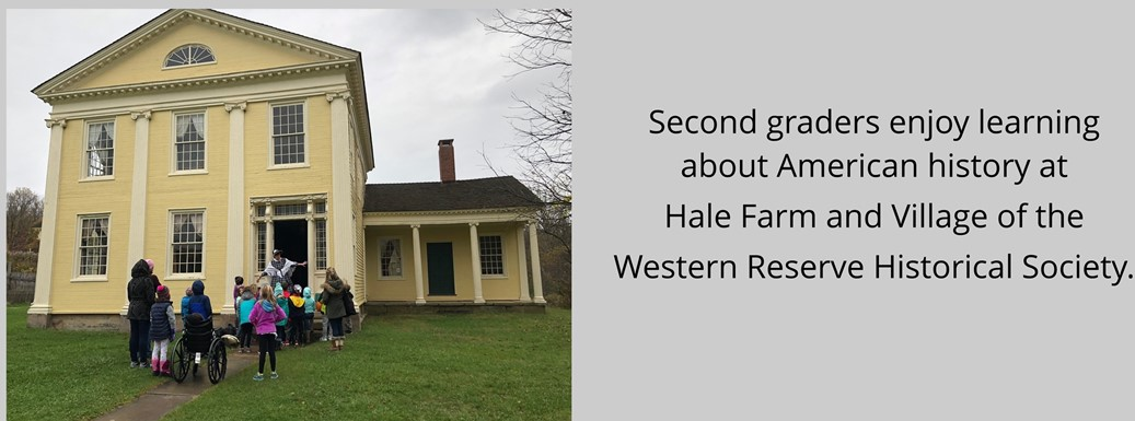 Hale Farm and Village 2nd Grade Field Trip