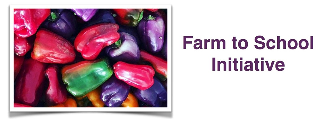 RRCSD Supports Farm to School Initiative - multi colored peppers