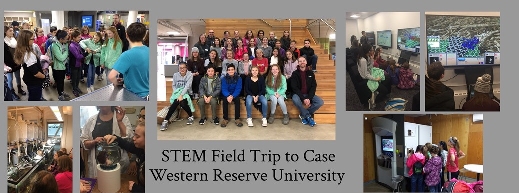 Students attend a STEM field trip to Case Western Reserve