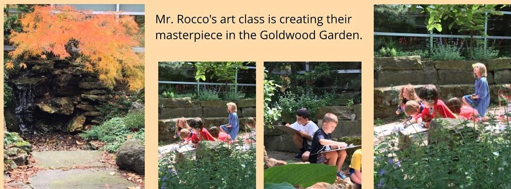 Goldwood Garden Art Class