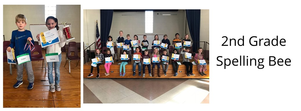 2nd Grade Spelling Bee Students