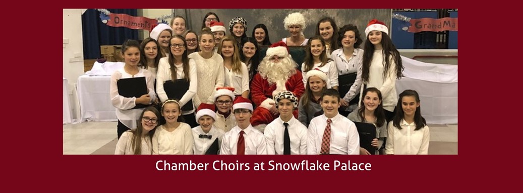 Chamber choir at snowflake palace