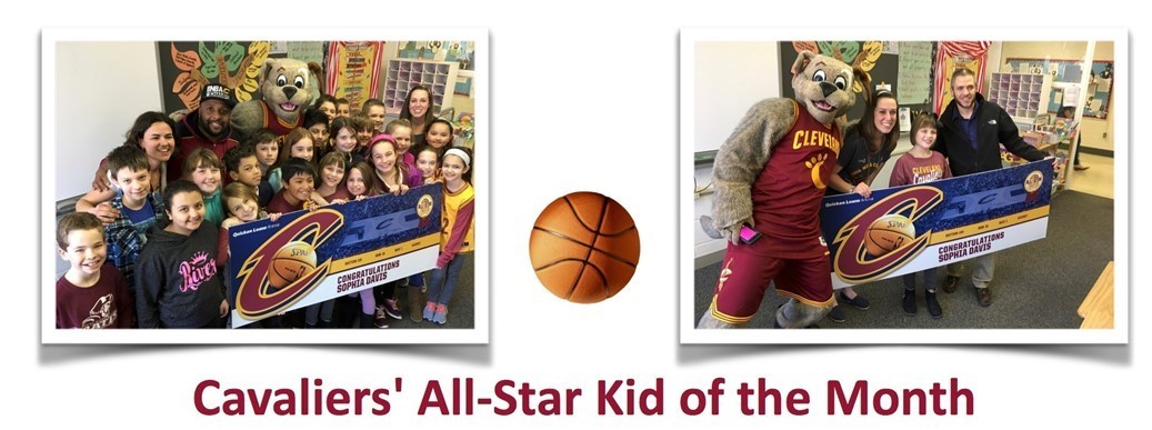Cavaliers' All-Star Kid of the Month