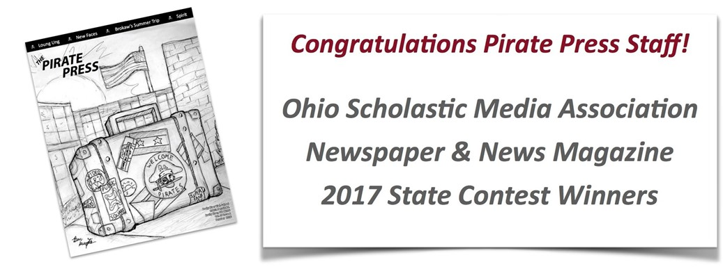 Ohio Scholastic Media Association Newspaper & News Magazine  2017 State Contest Winners