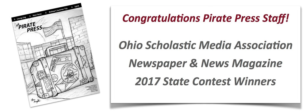 Pirate Press State Contest Winners