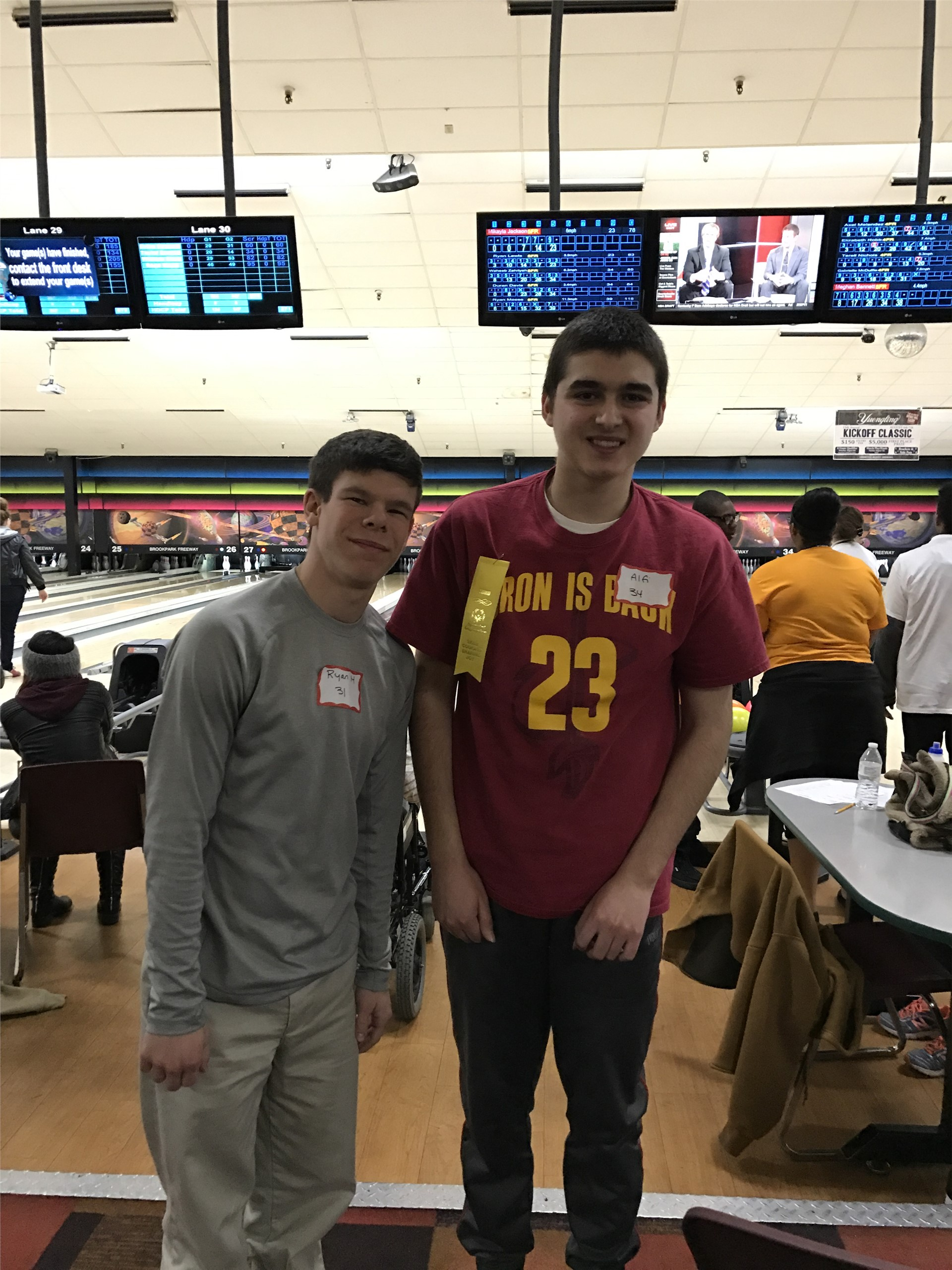 Special Olympics Bowling Tournament