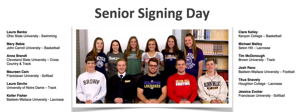 RRHS Senior Signing Day