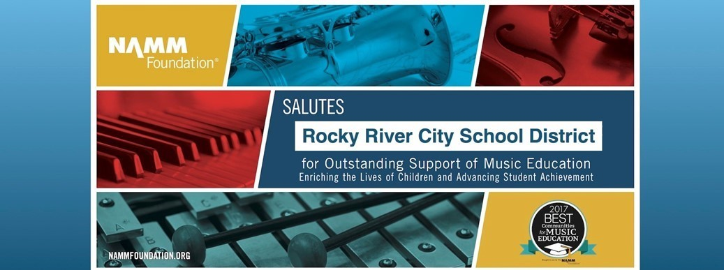 Best Communities for Music Education salutes Rocky River City School District