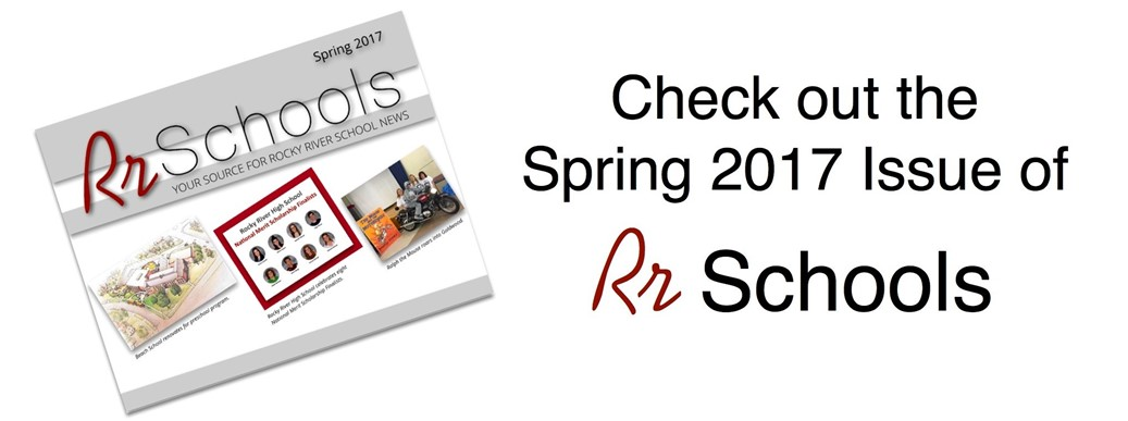 Rs Schools Spring 2017 Newsletter