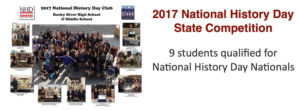 2017 National History Day State Competition