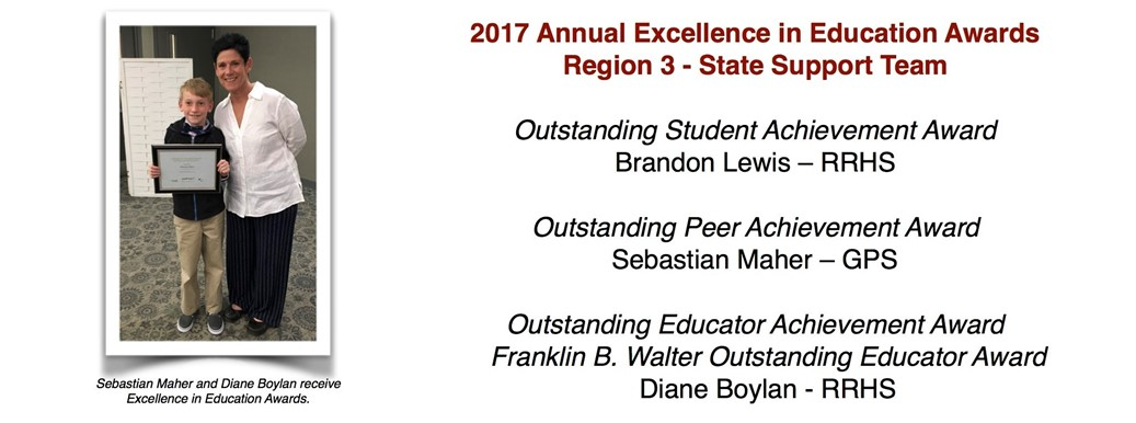 Annual Excellence in Education Awards