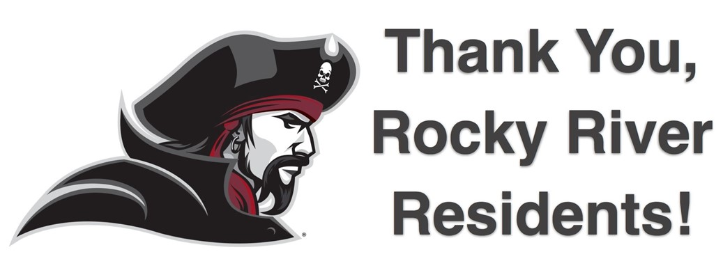 Thank You Rocky River Residents