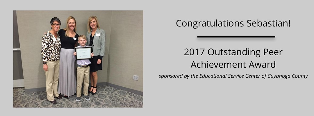 Annual Excellence in Education Awards recognizing students with disabilities, peers and educators