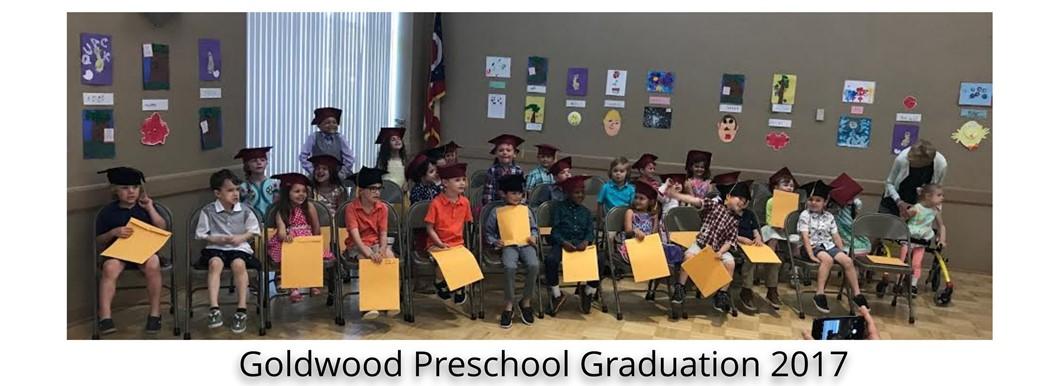 Goldwood Preschool Graduation