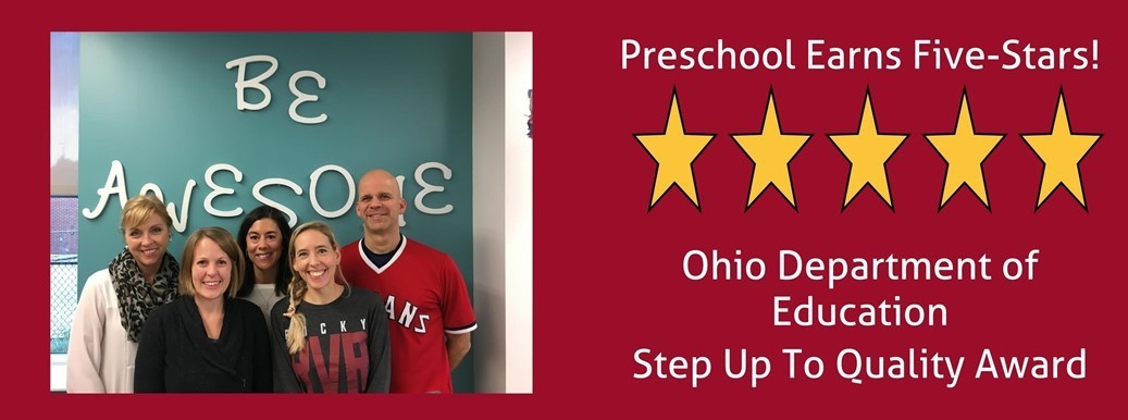 Preschool Ohio Department of Education Step Up to Quality Award
