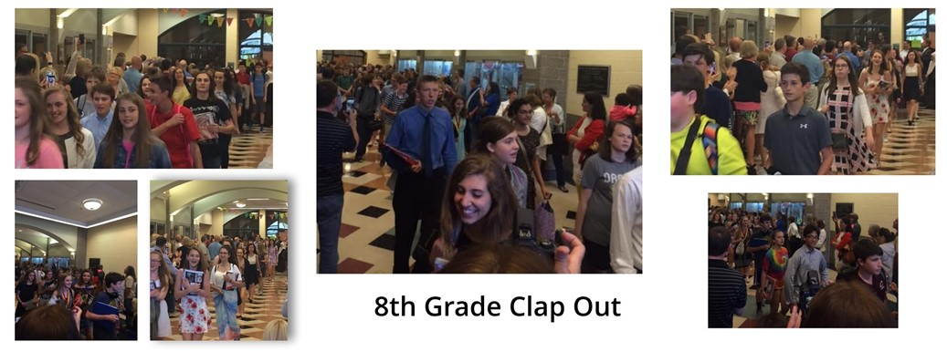 8th grade students leaving RRMS