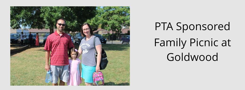 PTA Sponsored Goldwood Family Picnic