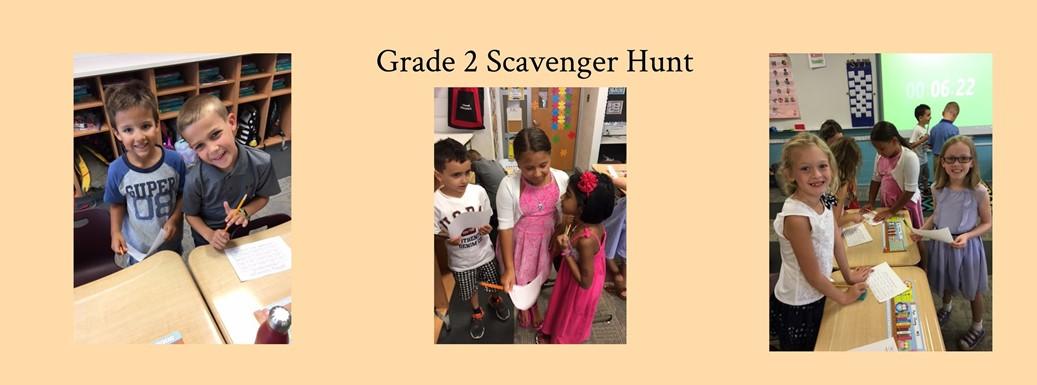Grade 2 Scavenger Hunt