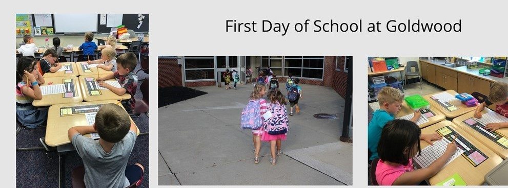 First Day of School at Goldwood Primary School