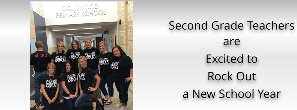Second Grade Teachers are Excited to Rock Out a New School Year