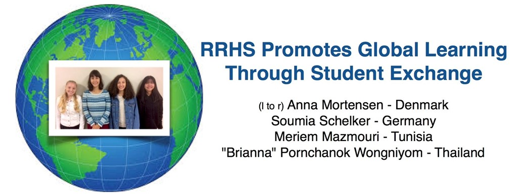 RRHS Promotes Global Learning Through Student Exchange