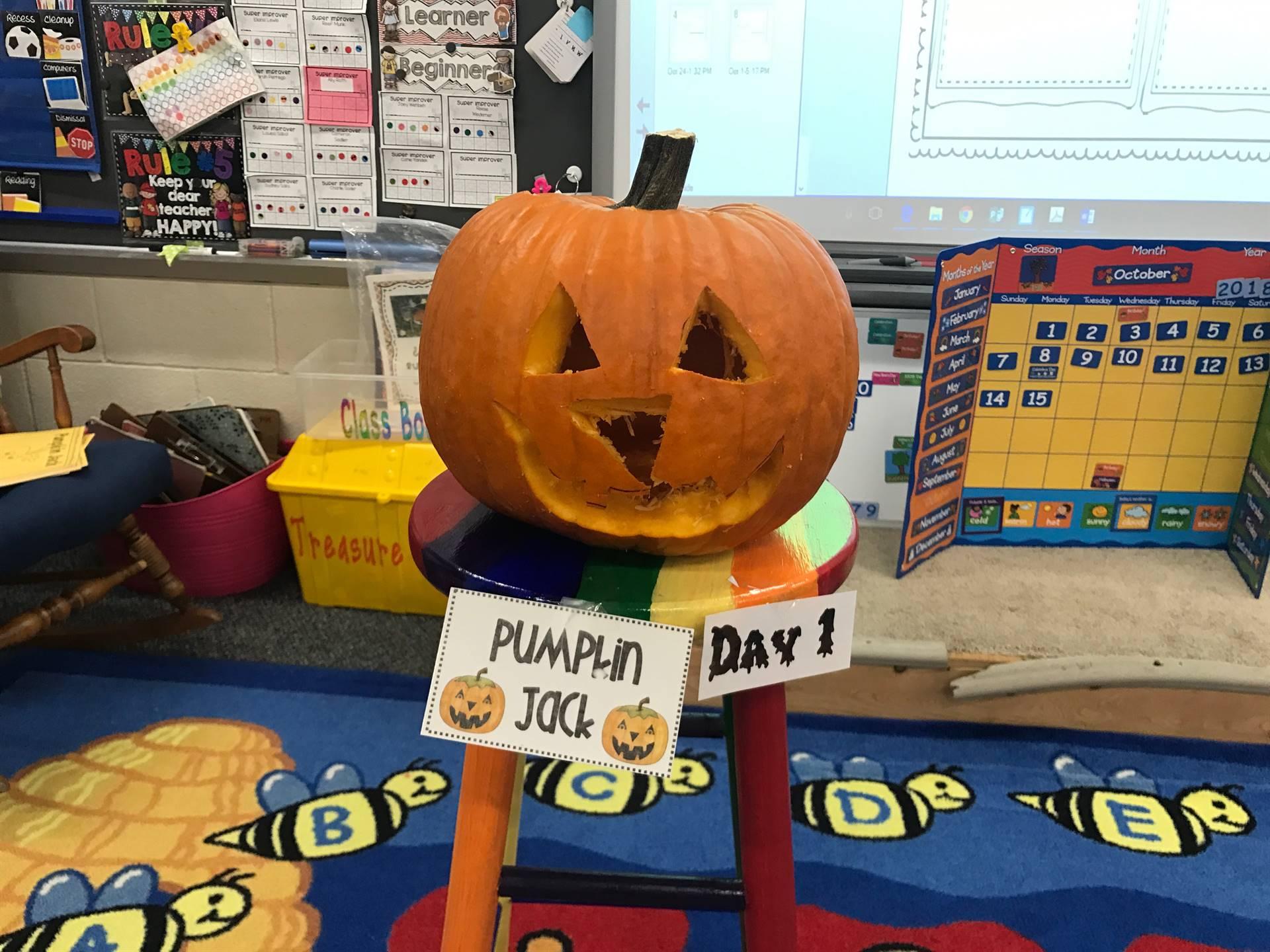 Pumpkin Jack Day 1