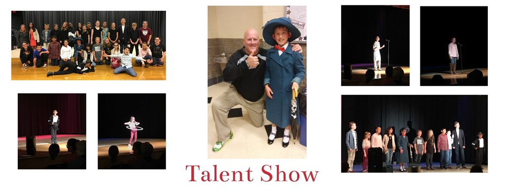 students perform in talent show