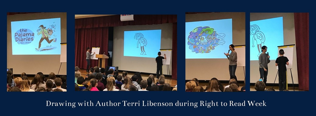 drawing with right to read author terri libenson