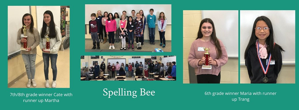 Students in the spelling bee