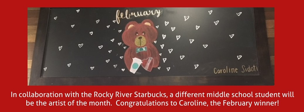 February artist of the month painting