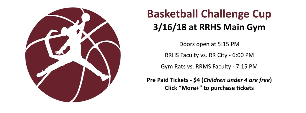 Basketball Challenge Cup 3/16/18 @ RRHS Main Gym