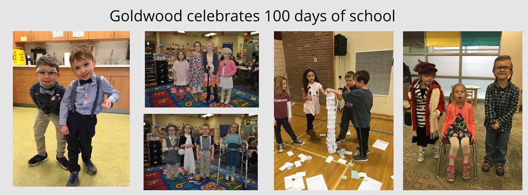 100th Day of School pictures