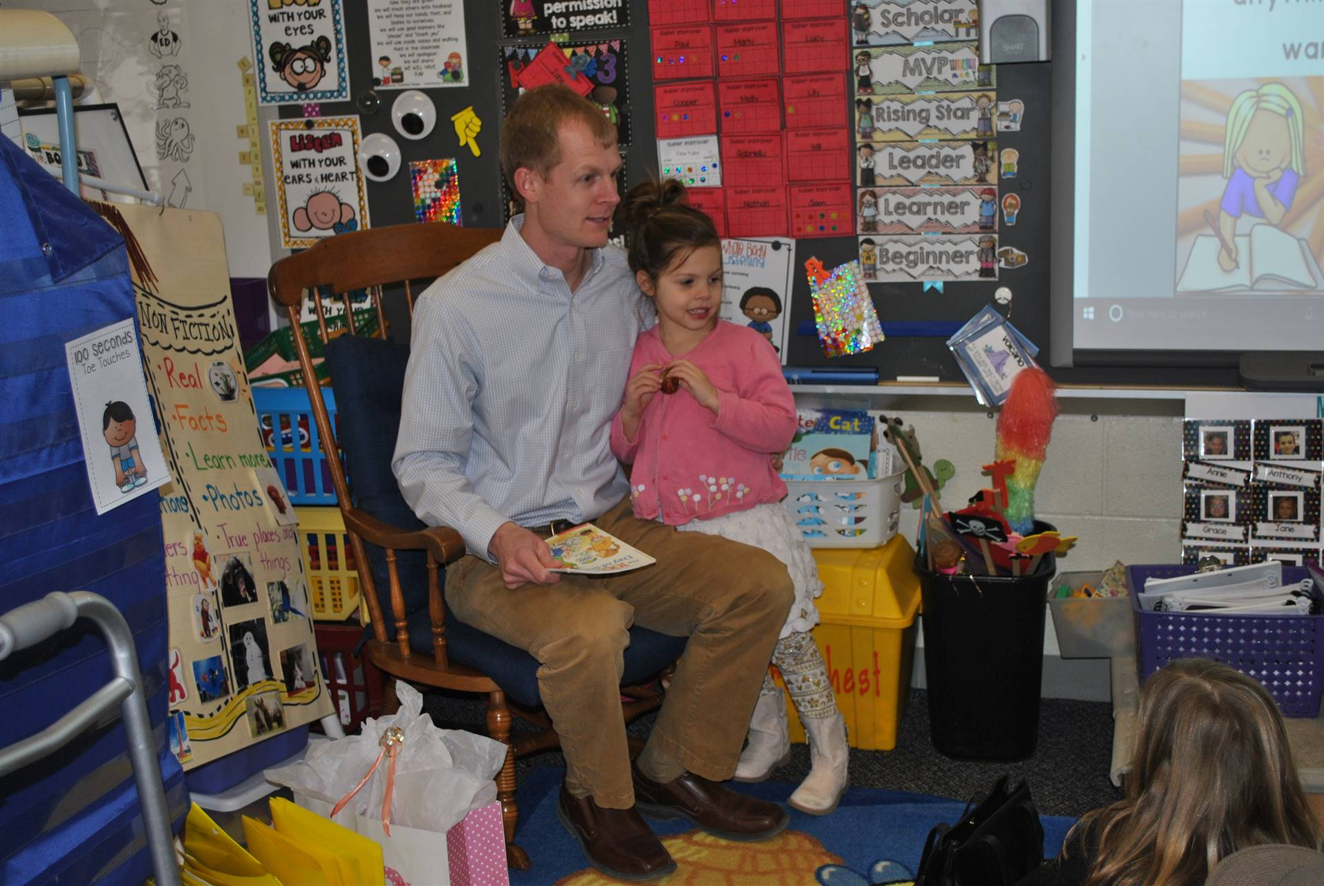 Mr. Blake as our Guest Reader
