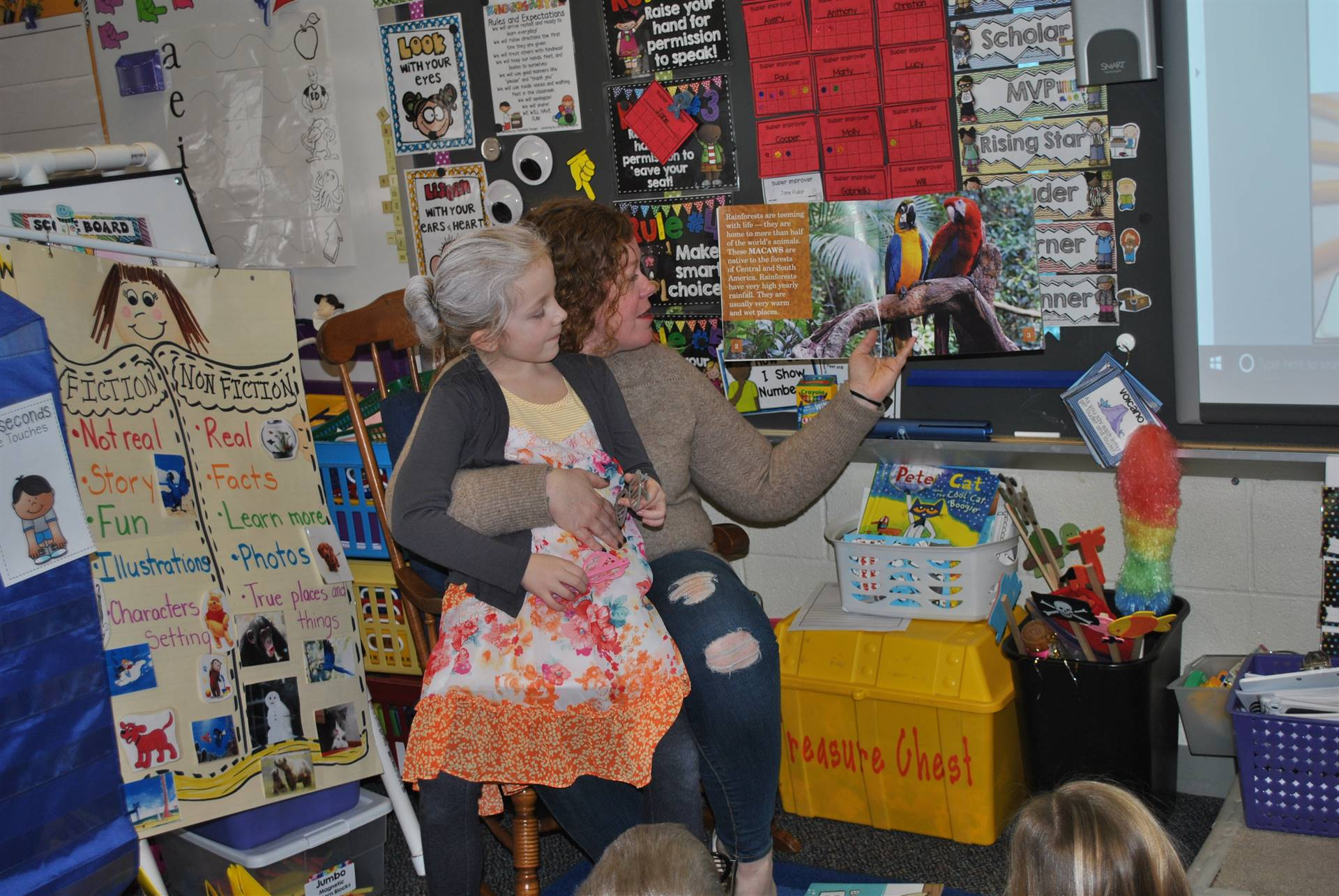 Mrs. Dean as our Guest Reader